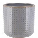 Keramik Kübel Foreo, D12cm, H11cm, für TO10,5, mee